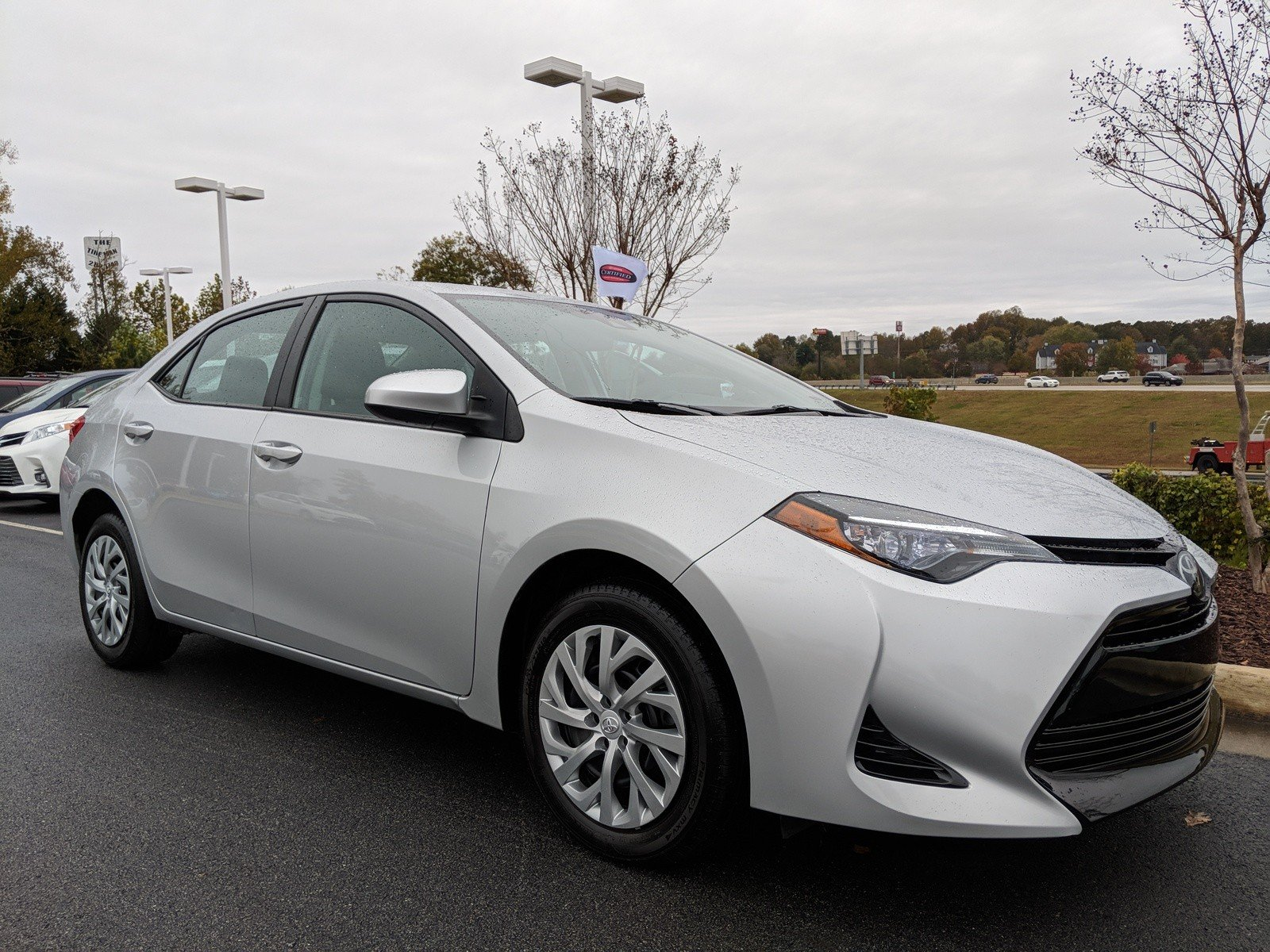 Certified Pre Owned 2017 Toyota Corolla LE 4dr Car in Gainesville