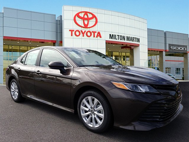 New 2019 Toyota Camry Le 4dr Car In Gainesville 42295 Milton