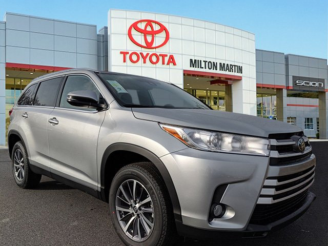 New 2019 Toyota Highlander Xle Sport Utility In Gainesville 42697