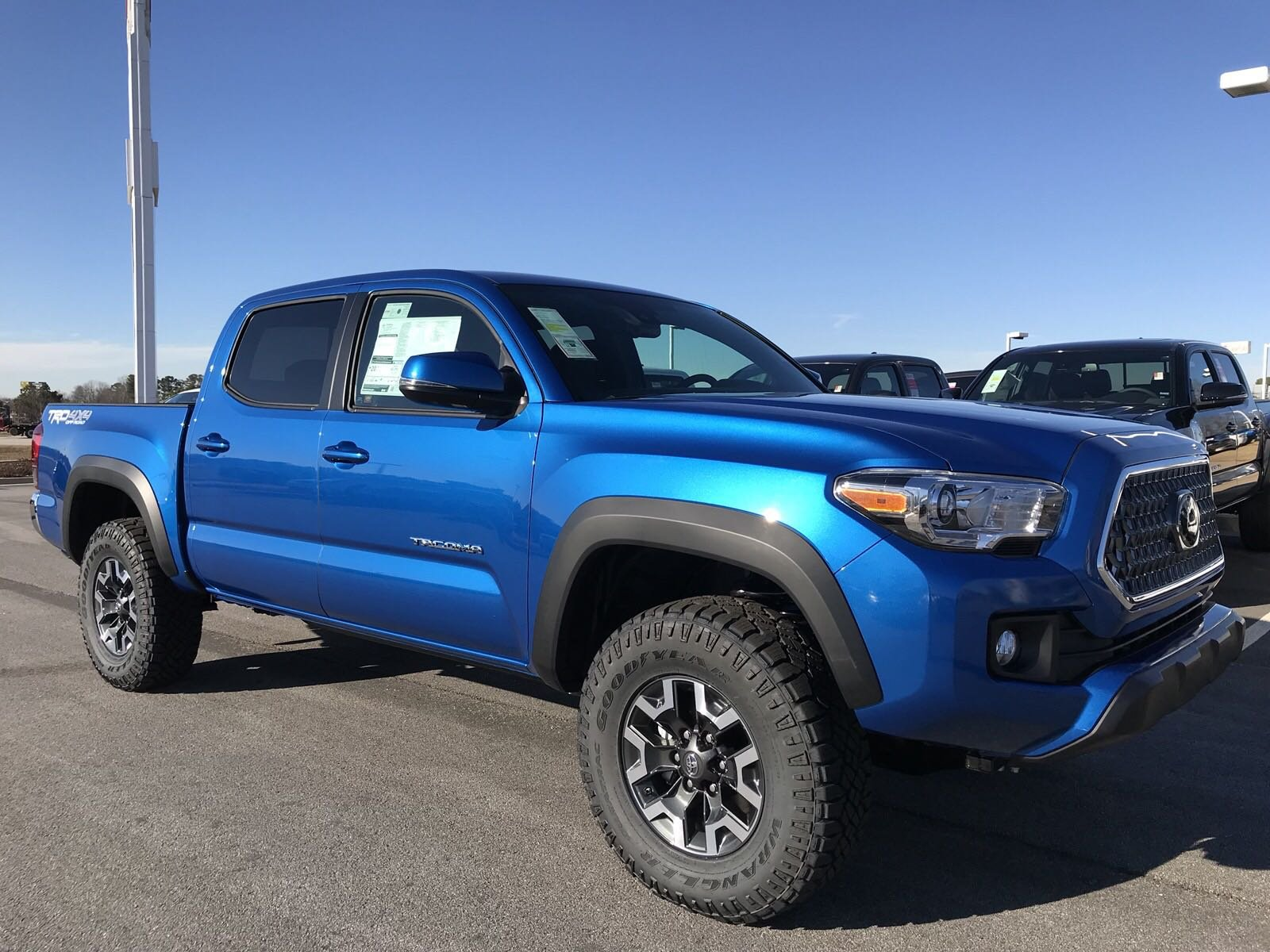 automatic double new toyota detail bed at cab tacoma