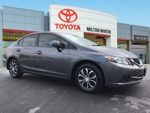 Pre-Owned 2015 Honda Civic Sedan LX